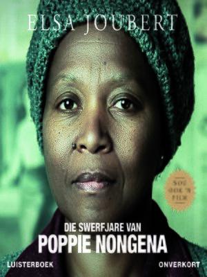 cover image of Die swerfjare van Poppie Nongena