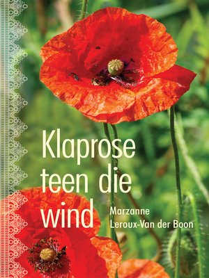 cover image of Klaprose teen die wind