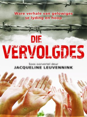 cover image of Die vervolgdes