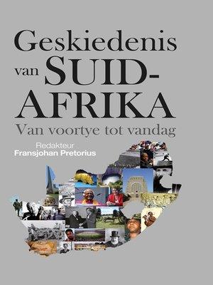cover image of Geskiedenis van Suid-Afrika