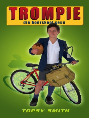 cover image of Trompie die hoërskoolseun (#4)
