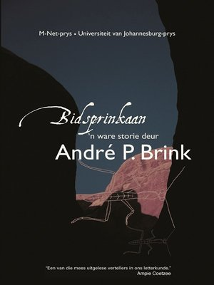 cover image of Bidsprinkaan