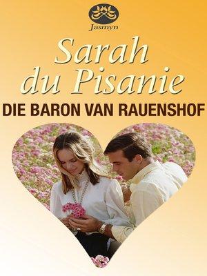cover image of Die baron van Rauenshof
