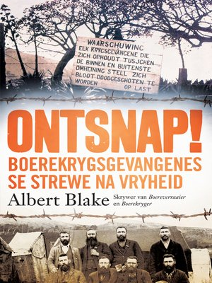 cover image of Ontsnap!