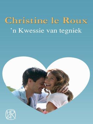 cover image of 'n Kwessie van tegniek