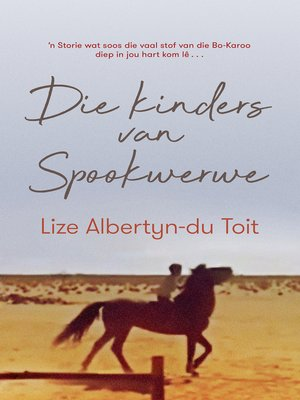 cover image of Die kinders van Spookwerwe