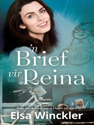 cover image of 'n Brief vir Reina