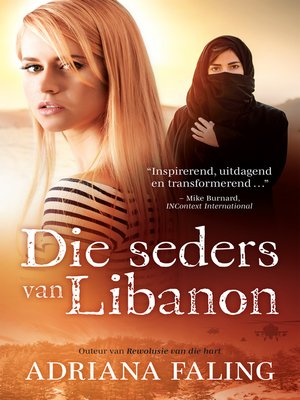 cover image of Die seders van Libanon