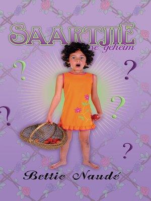cover image of Saartjie se geheim (#3)