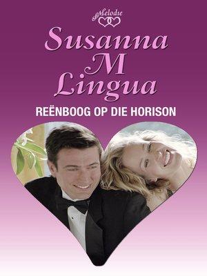 cover image of Reënboog op die horison