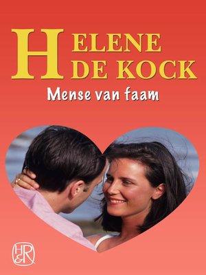 cover image of Mense van faam
