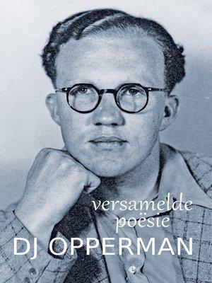 cover image of Versamelde poësie