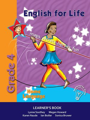 cover image of English for Life Grade 4 Home Language Learner's Book