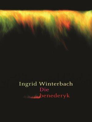 cover image of Die Benederyk