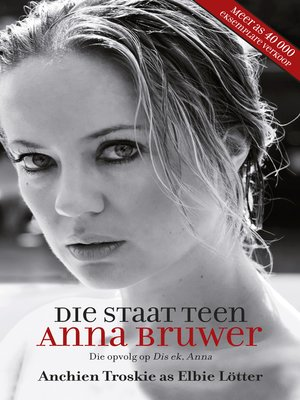 cover image of Die staat teen Anna Bruwer