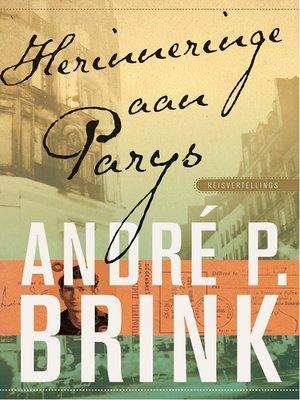 cover image of Herinneringe aan Parys