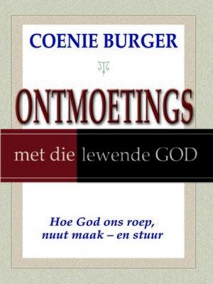 cover image of Ontmoetings met die lewende God