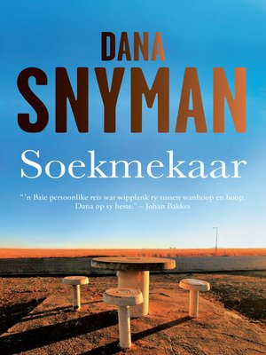 cover image of Soekmekaar