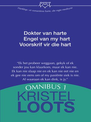 cover image of Kristel Loots Omnibus 1