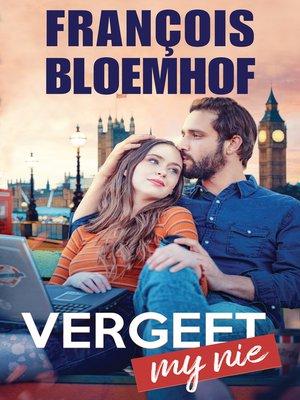 cover image of Vergeet my nie