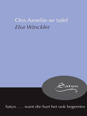 cover image of Om Amelie se tafel