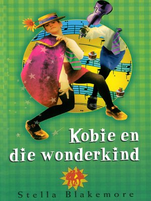cover image of Kobie en die wonderkind