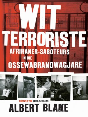 cover image of Wit terroriste