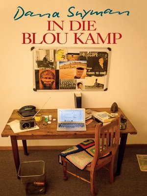 cover image of In die blou kamp