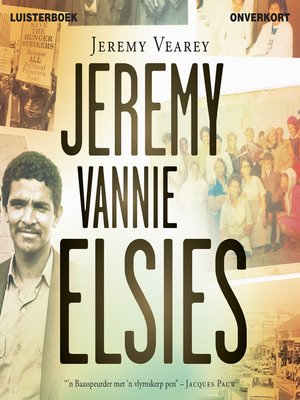 cover image of Jeremy vannie Elsies
