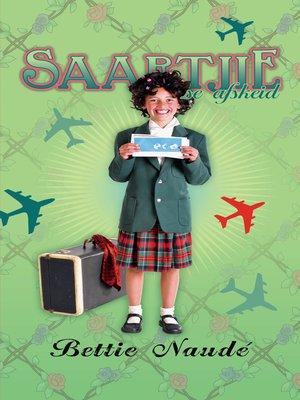 cover image of Saartjie se afskeid (#24)