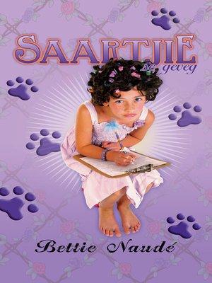cover image of Saartjie se geveg (#9)