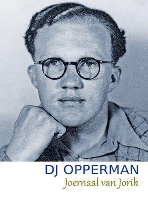 cover image of Joernaal van Jorik