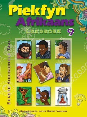 cover image of Piekfyn Afrikaans Leesboek Graad 9 Eerste Addisionele Taal