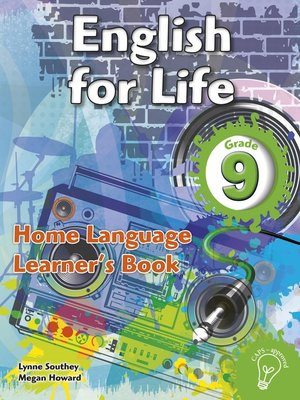 cover image of English for Life Grade 9 Learner's Book for Home Language