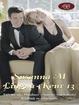 cover image of Susanna M Lingua-keur 13