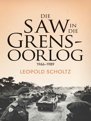 cover image of Die SAW in die Grensoorlog