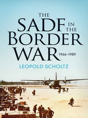 cover image of The SADF in the Border War