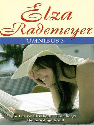 cover image of Elza Rademeyer Omnibus 3