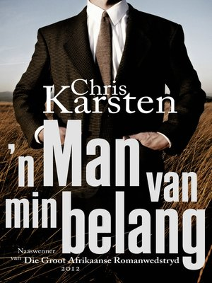 cover image of 'n Man van min belang