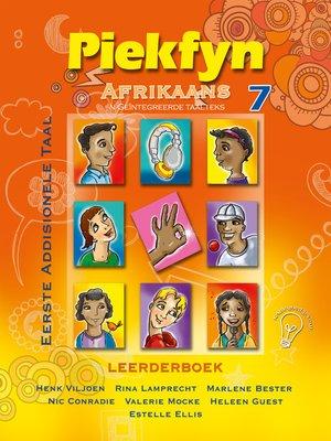 cover image of Piekfyn Afrikaans Graad 7 Leerderboek vir Eerste Addisionele Taal