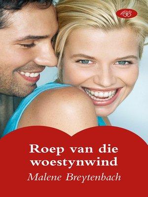 cover image of Roep van die woestynwind