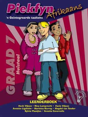 cover image of Piekfyn Afrikaans Leerderboek Graad 7 Huistaal