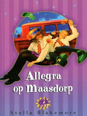 cover image of Allegra op Maasdorp