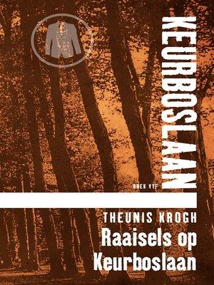 cover image of Raaisels op Keurboslaan #5