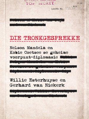 cover image of Die tronkgesprekke