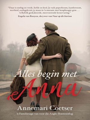 cover image of Alles begin met Anna