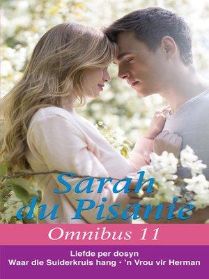 cover image of Sarah du Pisanie Omnibus 11