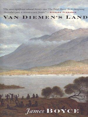 cover image of Van Diemen's Land