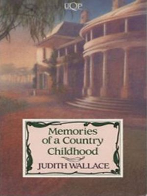 cover image of Memories of a Country Childhood