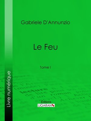 cover image of Le Feu, Tome 1